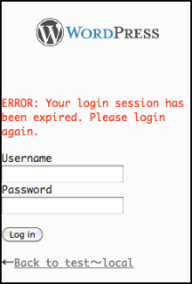 Enlarge the screen of thje login form when mobile login session has been expired